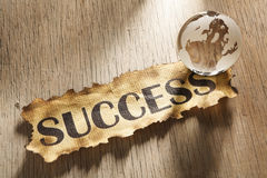 Global success concept Stock Photos
