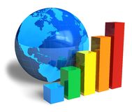 Global success concept Stock Images
