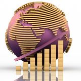 Global success concept Royalty Free Stock Images