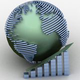 Global success concept Royalty Free Stock Photography