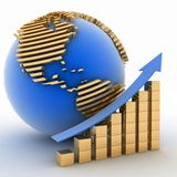 Global success concept Royalty Free Stock Image