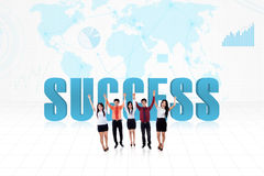 Global success team Stock Images