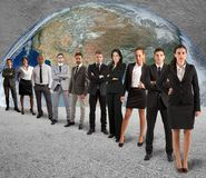 Global support team Stock Image