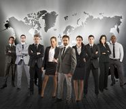 Global support team Royalty Free Stock Photos