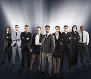 Global support team Stock Images