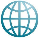 Global symbol Royalty Free Stock Photos