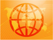 Global symbol Royalty Free Stock Images