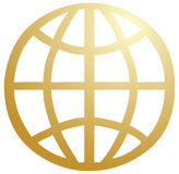 Global symbol Royalty Free Stock Images