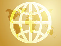 Global symbol Royalty Free Stock Photography