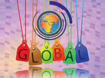 Global tags Stock Images