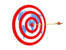 Global Target Stock Image