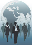 Global team emergent world business resources Stock Photo