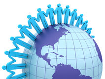 Global Teamwork Stock Photo