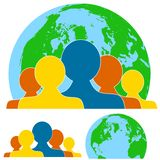 Global Teamwork People Royalty Free Stock Photography