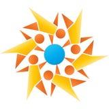 Global teamwork Royalty Free Stock Image