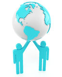 Global teamwork Stock Photography