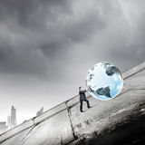 Global technologies Royalty Free Stock Images