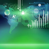 Global technologies Stock Images