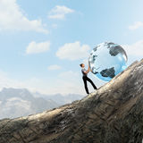 Global technologies Stock Photography