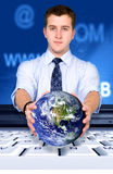 Global technology Stock Photography