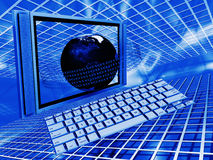 Global technology Royalty Free Stock Images