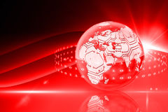 Global technology background Stock Photography