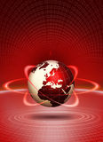 Global technology concept Stock Photo