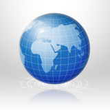 Global technology connection worldwide. Royalty Free Stock Photos