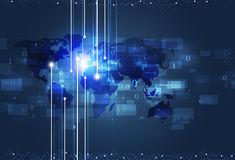Global Technology Connections Stock Photos