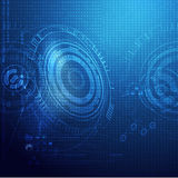 Global technology digital background Royalty Free Stock Photos