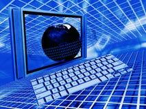 global teknologi stock illustrationer