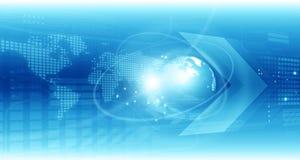 global teknologi för bakgrund royaltyfri illustrationer