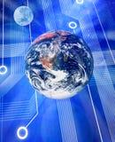 global teknologi för dator vektor illustrationer