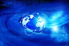 global teknologi för kommunikation Royaltyfri Fotografi