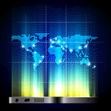 Global telecommunication concept Stock Photos