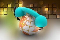 Global telecommunications concept Stock Photography