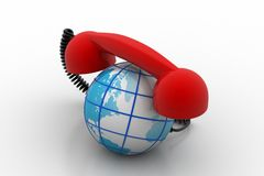 Global telecommunications concept Royalty Free Stock Photography