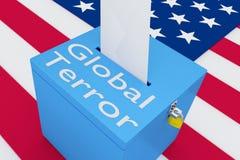 Global Terror concept Royalty Free Stock Photos