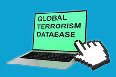 Global Terrorism Database concept Stock Images