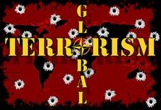 Global terrorism Royalty Free Stock Image