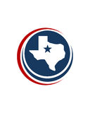 Global texas investment business insurance abstract Royalty Free Stock Photography