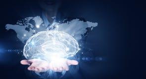 Global thinking Stock Image