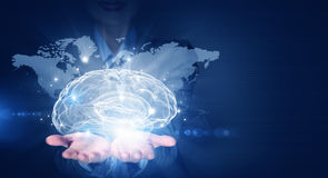 Global thinking Stock Photography