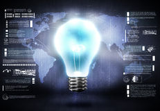 Global thinking Stock Images