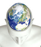 Global thinking - Elements of this image furnished by NASA Stock Photo