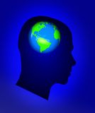 Global thoughts Stock Images