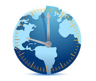 Global time concept Stock Photos