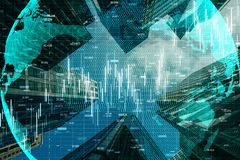 Global trade and finance concept stock images