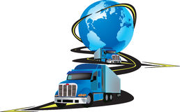 Global transport Royalty Free Stock Images