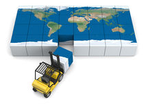 Global transportation Stock Image